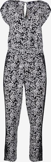 Le Temps Des Cerises Jumpsuit in schwarz / weiß, Produktansicht