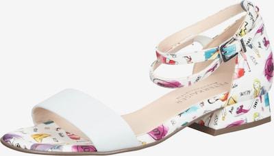 PETER KAISER Sandale in mischfarben / weiß, Produktansicht
