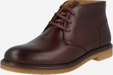 TIMBERLAND Lace-up boots 'Oakrock' in Brown
