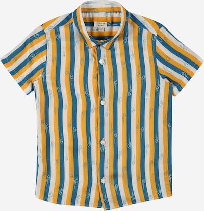River Island Overhemd in de kleur Blauw / Mosterd / Wit, Productweergave
