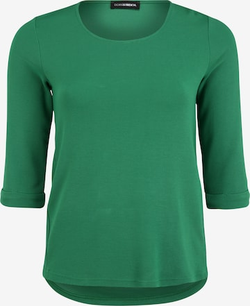 Doris Streich Pullover mit Rundhalsausschnitt in Grün