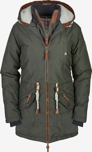 BRAVE SOUL Mantel in khaki, Produktansicht