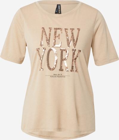 DeFacto T-Shirt in nude / gold / schwarz, Produktansicht