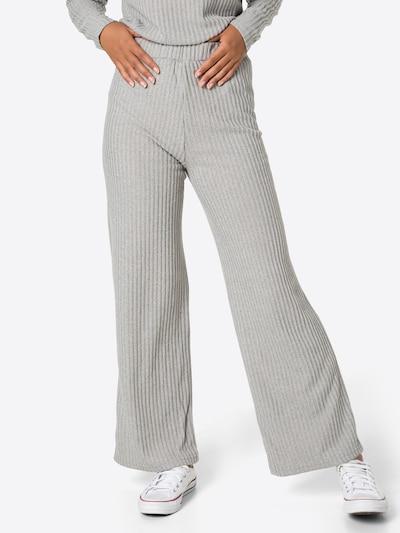 VERO MODA Pants 'Blossom' in mottled grey, View model