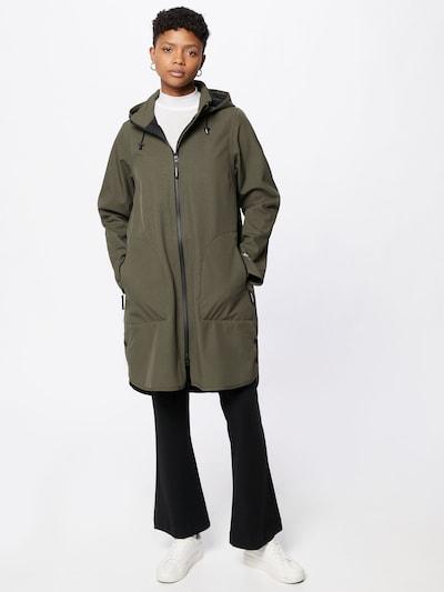 Cappotto di mezza stagione ILSE JACOBSEN di colore verde scuro, Visualizzazione modelli