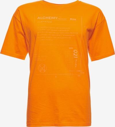 Superdry T-shirt oversize 'Desert' en orange, Vue avec produit