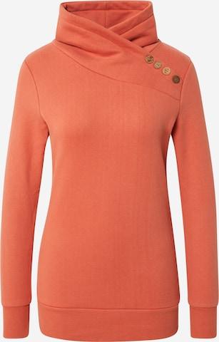 WLD Sweatshirt 'Love Beat' in Orange