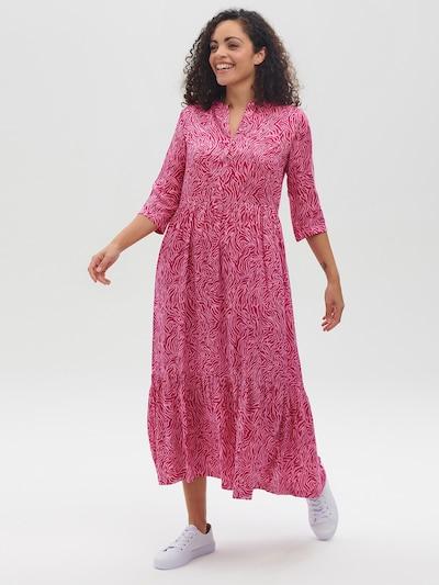 Sugarhill Brighton Blusenkleid 'Lauren' in rosa / dunkelpink, Modelansicht
