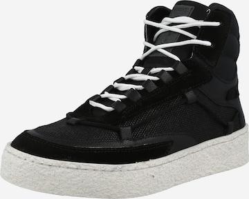 Greyderlab High-Top Sneakers in Black
