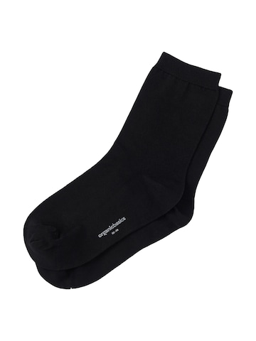 Organic Basics Socken ' Organic Cotton Socks 2er-Pack ' in Schwarz
