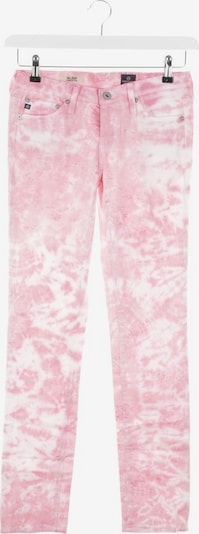 AG Jeans Jeans in 24 in rosa / weiß, Produktansicht