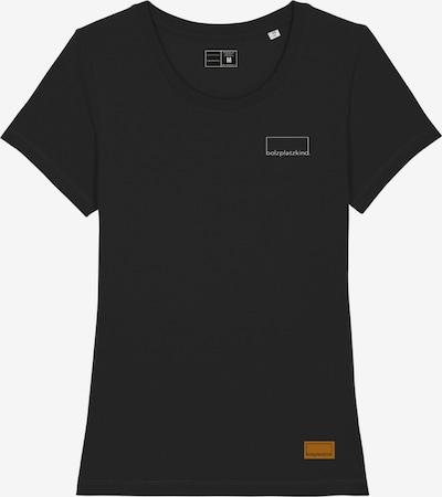 Bolzplatzkind T-Shirt in schwarz, Produktansicht