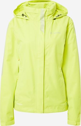 VAUDE Veste outdoor 'Luminum Jacket II' en citron vert, Vue avec produit