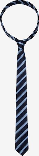 SEIDENSTICKER Krawatte ' Slim ' in blau / schwarz, Produktansicht