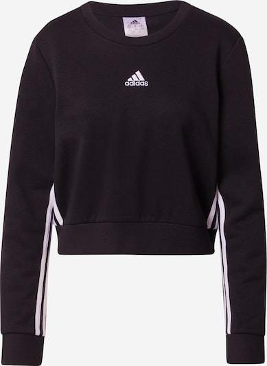 ADIDAS PERFORMANCE Sweat de sport en noir / blanc, Vue avec produit