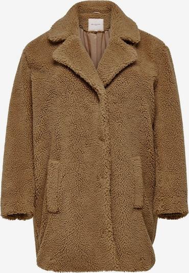 ONLY Carmakoma Manteau mi-saison en marron, Vue avec produit