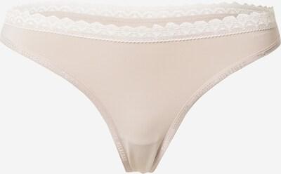 Tommy Hilfiger Underwear String i beige / vit, Produktvy