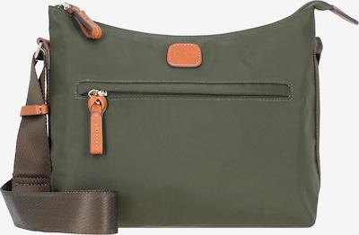 Bric's Crossbody Bag in Dark green / Light orange, Item view