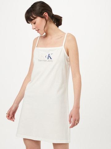 Calvin Klein Jeans Summer Dress in White