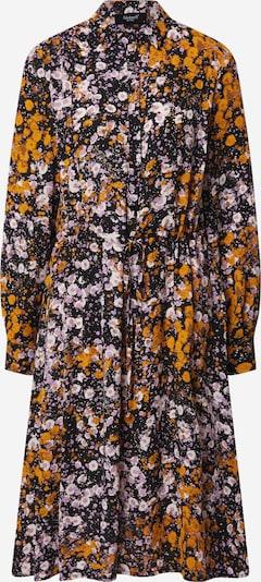 SISTERS POINT Košulja haljina 'Vike' u žuta / lila / crna, Pregled proizvoda