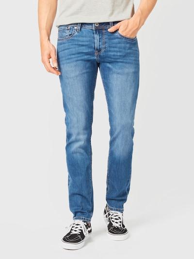 Pepe Jeans Jean 'HATCH' en bleu denim, Vue avec modèle