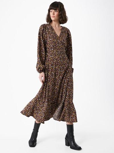 Moves Kleid in mischfarben / schwarz, Modelansicht