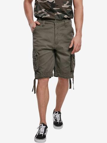 Brandit Klapptaskutega püksid, värv roheline