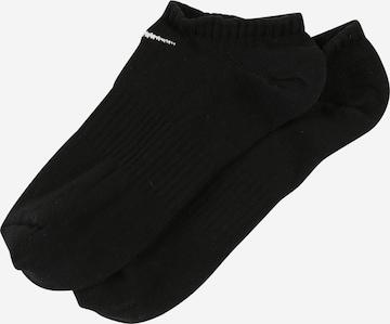 NIKE Sportssokker 'Nike Everyday Lightweight' i svart