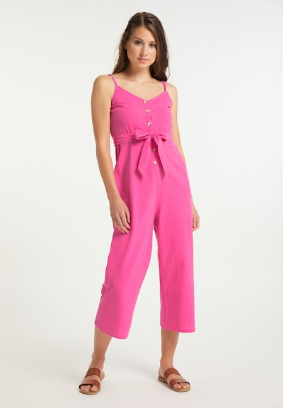 IZIA Jumpsuit in Pink, View model