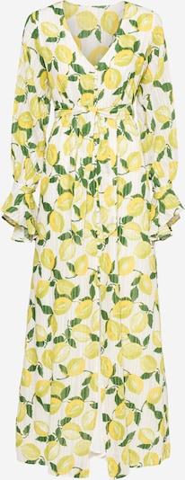 Fabienne Chapot Robe-chemise 'Outshine The Bride' en jaune / vert / blanc, Vue avec produit