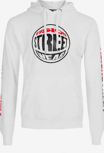 Vision Streetwear Sweatshirt in weiß, Produktansicht