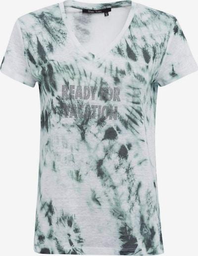 MARC AUREL Shirt in jade / weiß, Produktansicht