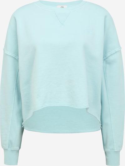 River Island Petite Sweat-shirt en bleu clair, Vue avec produit