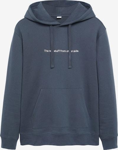 MANGO MAN Sweatshirt 'Real' in taubenblau, Produktansicht