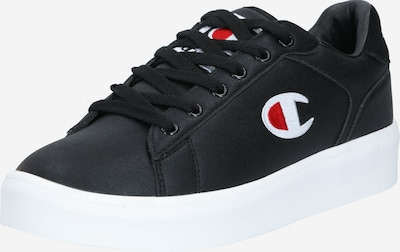 Champion Authentic Athletic Apparel Sneakers laag in de kleur Rood / Zwart / Wit, Productweergave
