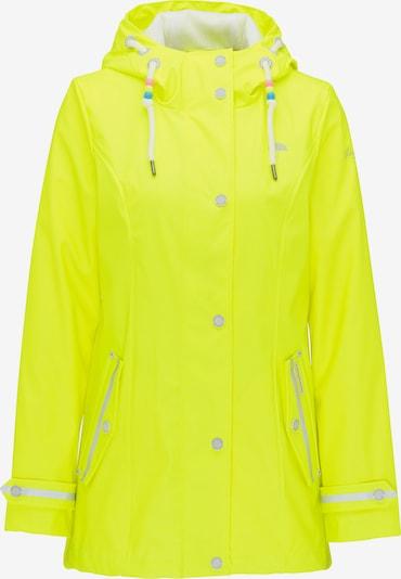 Schmuddelwedda Regenjacke in gelb: Frontalansicht