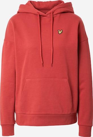 Lyle & Scott Sweatshirt in Rot