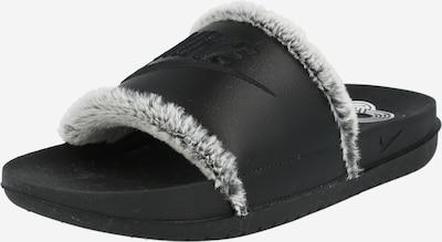 Nike Sportswear Badeschuh 'Off Court' in hellgrau / schwarz, Produktansicht