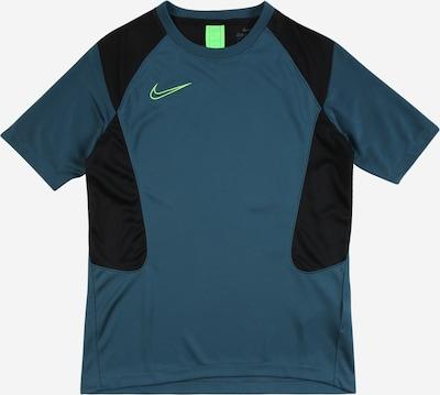 NIKE Sportshirt 'Academy' in petrol / neongrün / schwarz, Produktansicht