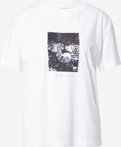 ARMEDANGELS T-Shirt 'MIAA' in nachtblau / weiß, Produktansicht