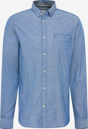 TOM TAILOR Overhemd in de kleur Smoky blue / Wit, Productweergave