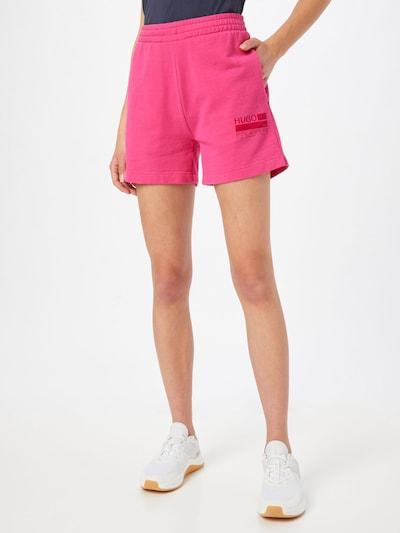 HUGO Shorts in pink, Modelansicht