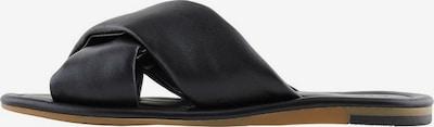 PIECES Sandale in schwarz, Produktansicht