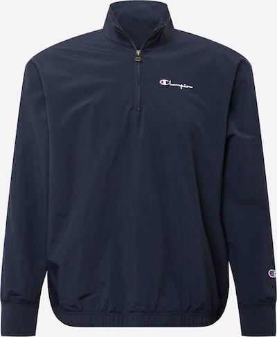 Champion Reverse Weave Jacke in navy / hellrot / weiß, Produktansicht