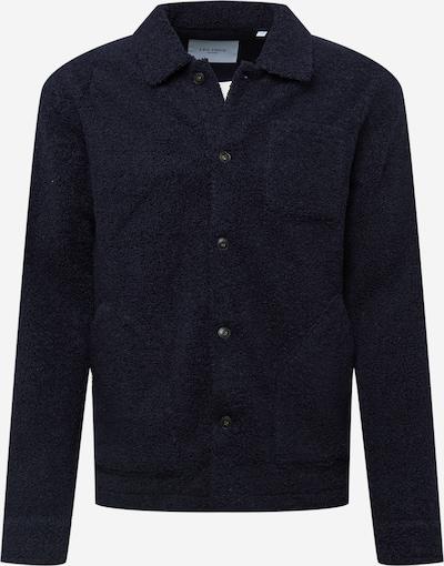 Les Deux Jacke 'Ian' in dunkelblau, Produktansicht