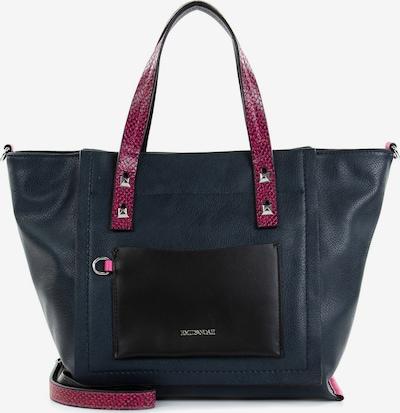 Emily & Noah Shopper 'Frieda' in dunkelblau / pink / schwarz, Produktansicht