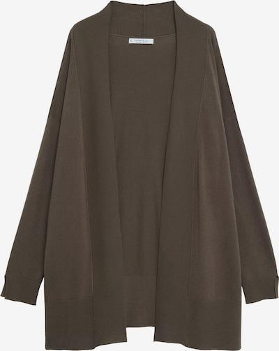 VIOLETA by Mango Strickjacke 'Lisa' in khaki, Produktansicht
