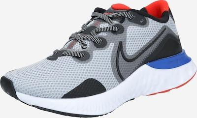 NIKE Loopschoen ' Renew Run' in de kleur Blauw / Grijs / Rood, Productweergave