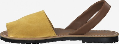 TAMARIS Sandali | rjava / rumena barva, Prikaz izdelka