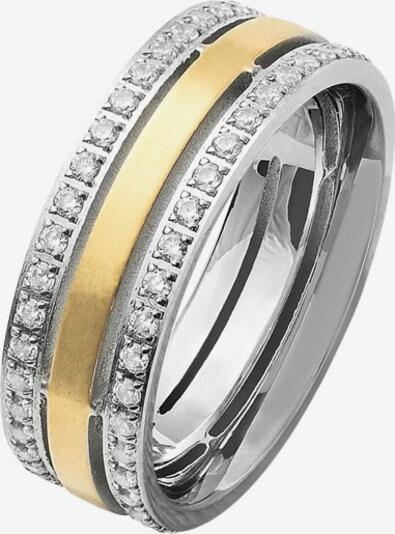 XENOX Ring in grau / silbergrau, Produktansicht